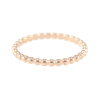 Bubble Stack Rings 14KP in Rose Gold