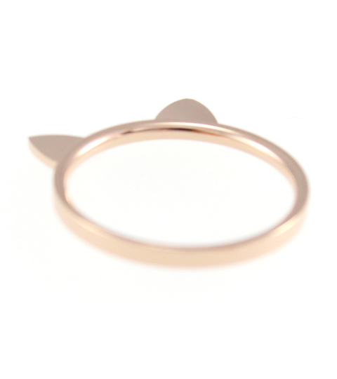 Cat Ears Ring 14KP in Rose Gold