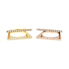 Double Layer Strand Ring 14KP in Rose Gold & Gold