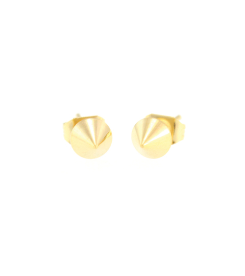 Mini Spike Stud Earrings 14KP