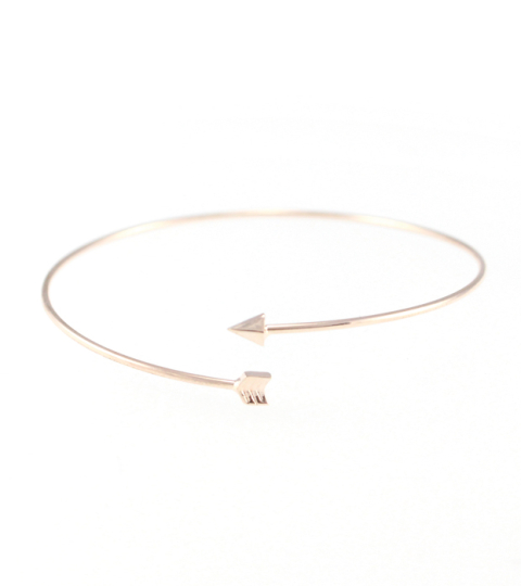 Wrap Around Arrow Bangle